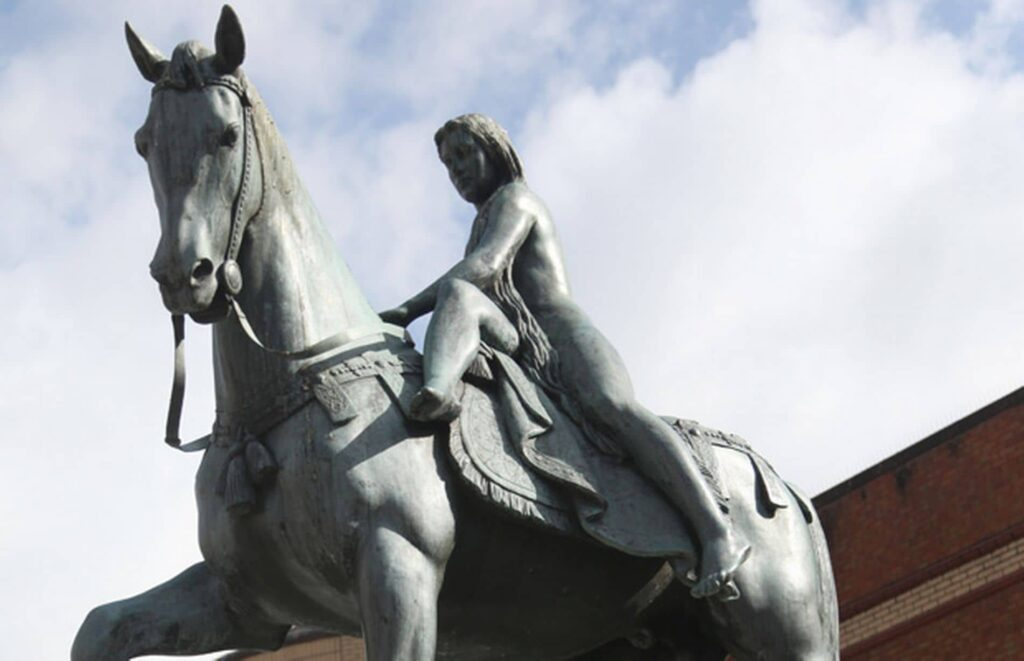 Lady Godiva Statue in Coventry, lawyers and solicitors in Coventry City Centre